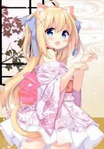 Rating: Safe Score: 63 Tags: animal_ears garlicgirls japanese_clothes mimura_zaja nekomimi tagme tail User: kiyoe