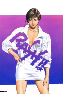 Rating: Safe Score: 3 Tags: asaka_yuuki cleavage houjou_tsukasa no_bra rash!! User: Radioactive