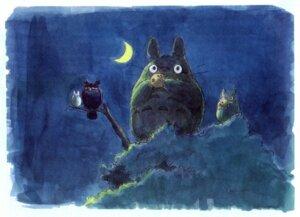 Rating: Safe Score: 8 Tags: oga_kazuo tonari_no_totoro totoro User: Radioactive