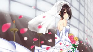 Rating: Safe Score: 57 Tags: date_a_live dress heterochromia tagme tokisaki_kurumi wedding_dress User: kiyoe