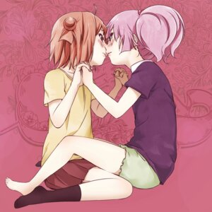 Rating: Safe Score: 21 Tags: akaza_akari baka_neko yoshikawa_chinatsu yuri yuru_yuri User: Radioactive