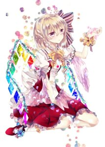 Rating: Safe Score: 26 Tags: flandre_scarlet ginzuki_ringo touhou wings User: Minacle