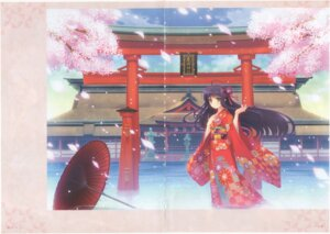 Rating: Safe Score: 7 Tags: breast_hold crease fixme kimono nishimata_aoi umbrella wet User: k25c2yf