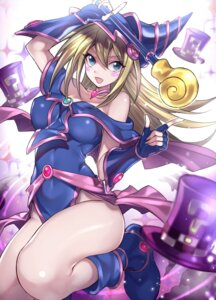 Rating: Safe Score: 55 Tags: armor dark_magician_girl dress maruchi weapon yugioh User: Mr_GT