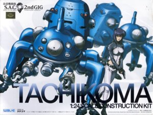 Rating: Safe Score: 9 Tags: ghost_in_the_shell gotou_takayuki kusanagi_motoko mecha tachikoma teraoka_kenji User: Radioactive
