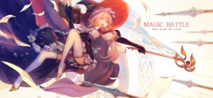 Rating: Safe Score: 45 Tags: pcw thighhighs weapon witch User: Mr_GT