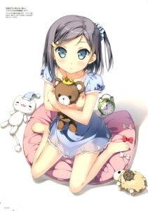 Rating: Safe Score: 83 Tags: dress feet hentai_ouji_to_warawanai_neko kantoku tsutsukakushi_tsukiko User: Twinsenzw