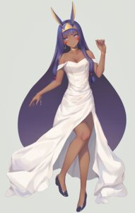 Rating: Safe Score: 42 Tags: animal_ears bunny_ears cleavage dress fate/grand_order heels nitocris_(fate/grand_order) tagme User: BattlequeenYume