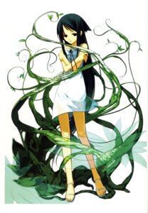 Rating: Safe Score: 32 Tags: chuuou_higashiguchi dress feet saya saya_no_uta summer_dress User: Radioactive