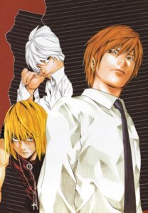 Rating: Safe Score: 6 Tags: death_note male mello near obata_takeshi yagami_light User: Radioactive