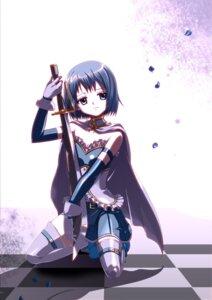 Rating: Safe Score: 11 Tags: cleavage hayosena miki_sayaka puella_magi_madoka_magica sword thighhighs User: charunetra