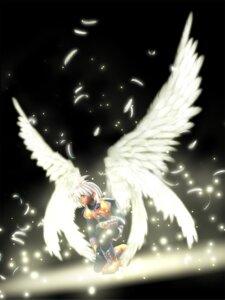 Rating: Safe Score: 10 Tags: cg chaos_(xenosaga) male wings xenosaga xenosaga_i User: Manabi