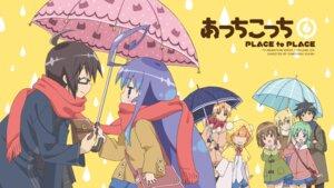 Rating: Safe Score: 18 Tags: acchi_kocchi haruno_hime inui_sakaki katase_mayoi megane miniwa_tsumiki miyama_kana_(acchi_kocchi) otonashi_io saibara_kyouya sakimori_saki seifuku umbrella wallpaper User: red_destiny