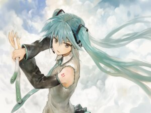 Rating: Safe Score: 30 Tags: bob hatsune_miku headphones tattoo vocaloid User: Noodoll