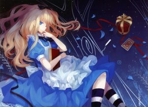 Rating: Safe Score: 47 Tags: alice alice_in_wonderland dhiea dress moe_shoujo_ryouiki User: charunetra