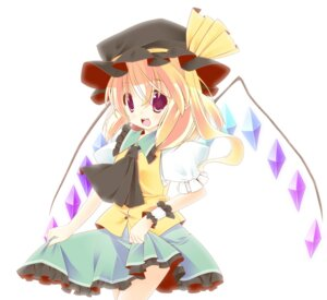 Rating: Safe Score: 9 Tags: flandre_scarlet sefa touhou wings User: aihost