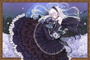 Rating: Safe Score: 61 Tags: lolita_fashion rozen_maiden shiokonbu suigintou wings User: suigintou3cc