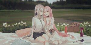 Rating: Safe Score: 18 Tags: chihuri dress summer_dress yuri User: Mr_GT