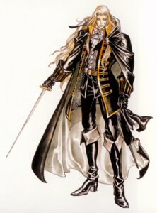 Rating: Safe Score: 9 Tags: alucard_(castlevania) castlevania castlevania:_symphony_of_the_night kojima_ayami konami male sword User: keri-sama