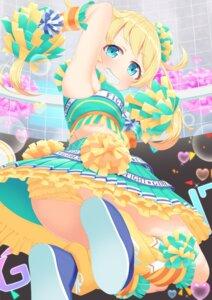 Rating: Safe Score: 22 Tags: cheerleader kiratto_pri_chan moegi_emo pantsu tachimi_(basue) User: Mr_GT