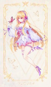 Rating: Safe Score: 23 Tags: cleavage dress garter heels miyo_(user_zdsp7735) User: Arsy