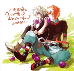 Rating: Safe Score: 2 Tags: animal_ears lamento male nitroplus_chiral tagme tail User: Radioactive