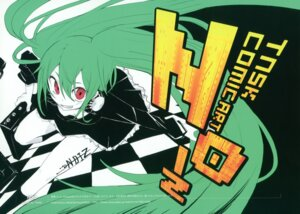 Rating: Safe Score: 16 Tags: chroma_of_wall hatsune_miku headphones noiz_(vocaloid) tansuke vocaloid User: midzki