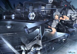 Rating: Safe Score: 38 Tags: gun heels kopianget mecha mecha_musume thighhighs User: Masutaniyan