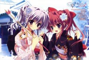 Rating: Safe Score: 109 Tags: amaha_miu inui_sana izumi_tsubasu kimono mashiroiro_symphony User: SubaruSumeragi