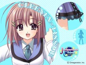 Rating: Safe Score: 6 Tags: cleenex_tissue judgement_chime nishimata_aoi wallpaper User: syaoran-kun