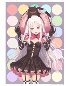 Rating: Questionable Score: 50 Tags: cleavage devil digital_version dress gothic_lolita lolita_fashion melty_de_granite no_bra sega shining_hearts shining_world sorbe stockings thighhighs tony_taka witch User: Twinsenzw