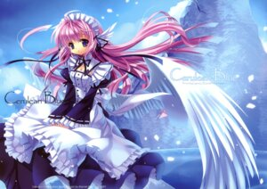 Rating: Safe Score: 34 Tags: capura.l eternal_phantasia fixed maid wings User: fireattack