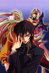 Rating: Safe Score: 10 Tags: c.c. code_geass kimura_takahiro lelouch_lamperouge mao_(code_geass) seifuku User: Aurelia