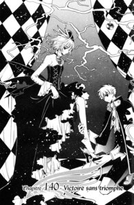 Rating: Safe Score: 8 Tags: clamp dress gothic_lolita kinomoto_sakura lolita_fashion monochrome tsubasa_reservoir_chronicle User: Debbie