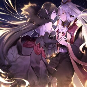 Rating: Safe Score: 24 Tags: amakusa_shirou_(fate) assassin_of_red_(fate/apocrypha) dress fate/apocrypha fate/stay_night japanese_clothes pointy_ears semiramis_(fate) wowishi User: Mr_GT