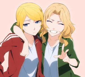 Rating: Safe Score: 13 Tags: darjeeling girls_und_panzer gym_uniform kay_(girls_und_panzer) kofunami_nana User: Radioactive