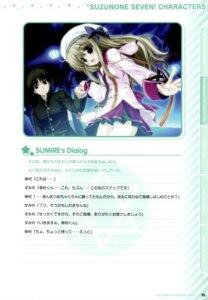 Rating: Safe Score: 4 Tags: clochette daikanyama_sumire oshiki_hitoshi pantsu seifuku suzunone_seven User: admin2