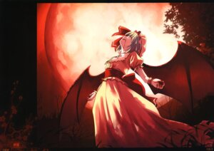 Rating: Safe Score: 26 Tags: blood dress fixed kamikire_basami remilia_scarlet touhou wings yasuyuki User: fireattack