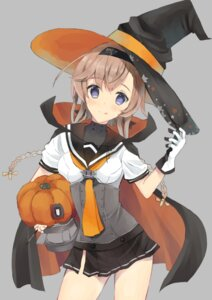 Rating: Safe Score: 19 Tags: edel_(edelcat) halloween kantai_collection seifuku teruzuki_(kancolle) witch User: Mr_GT