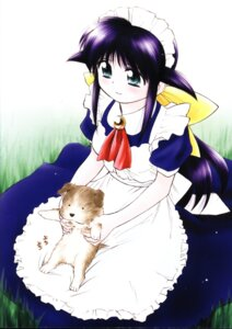 Rating: Safe Score: 5 Tags: andou_mahoro ditama_bow guri_(mahoromatic) mahoromatic maid User: Radioactive