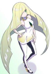 Rating: Safe Score: 35 Tags: dress heels lusamine_(pokemon) pantyhose pokemon yamada_gogogo User: charunetra