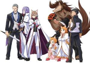 Rating: Safe Score: 10 Tags: animal_ears felix_argyle natsuki_subaru re_zero_kara_hajimeru_isekai_seikatsu sword uniform User: kiyoe