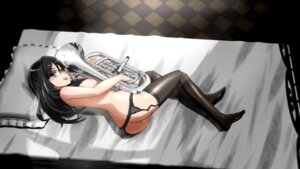 Rating: Explicit Score: 59 Tags: ass garter_belt genya hibike!_euphonium megane naked nipples pussy_juice stockings tanaka_asuka thighhighs User: Mr_GT