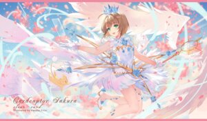 Rating: Safe Score: 42 Tags: card_captor_sakura criin dress heels kinomoto_sakura weapon wings User: Mr_GT