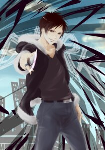 Rating: Safe Score: 6 Tags: cheddar durarara!! male orihara_izaya User: charunetra