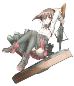 Rating: Safe Score: 46 Tags: kantai_collection mobu-312 taihou_(kancolle) thighhighs weapon User: tbchyu001