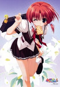Rating: Safe Score: 26 Tags: clochette kahara_mizuki kamipani seifuku shintarou User: Anonymous