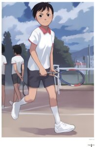 Rating: Safe Score: 7 Tags: gym_uniform takamichi tennis User: Radioactive