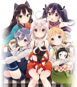 Rating: Safe Score: 29 Tags: harikamo japanese_clothes thighhighs urara_meirochou User: saemonnokami
