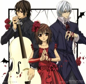 Rating: Safe Score: 10 Tags: cross_yuuki dress kiryuu_zero kuran_kaname lolita_fashion screening vampire_knight watanabe_atsuko User: yumichi-sama